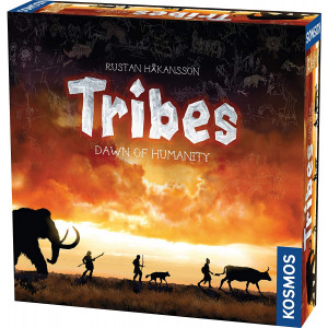 Tribes: Dawn of Humanity - A Kosmos Game from Thames and Kosmos   A Civilization Game for 2-4 Players, Civ Building, Designer Rustan Hkansson, Ages 10+