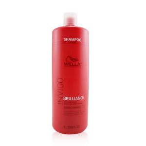 Wella Invigo Brilliance Shampoo for Fine Hair By for Unisex - 33.8 Ounce Shampoo, 33.8 Ounce
