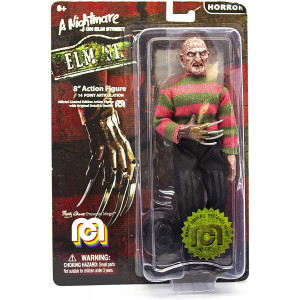 Mego Action Figures, 8 Nightmare On Elmstreet - Freddy (Limited Edition Collector's Item)
