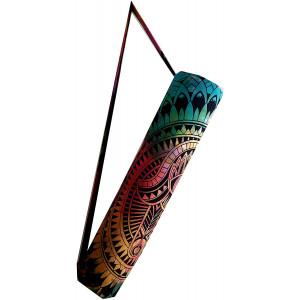 ICC Hamsa Hand Full-Zip Exercise Yoga Mat Carry Bag Gym Beach Pilates Carrier Bags Hippie Mandala Indian Cotton Bag