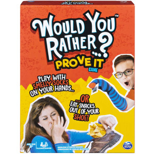 Would You Rather...? Prove It, Hilarious Family Game of Demented Dilemmas, for Ages 8 and Up