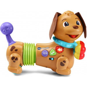 VTech Rattle and Waggle Learning Pup,Multicolor