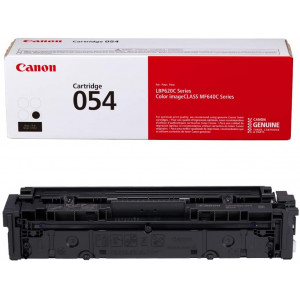 Canon Genuine Toner, Cartridge 054 Black (3024C001) 1 Pack, for Canon Color Image CLASS MF641Cdw, MF642Cdw, MF644Cdw, LBP622Cdw Laser Printers