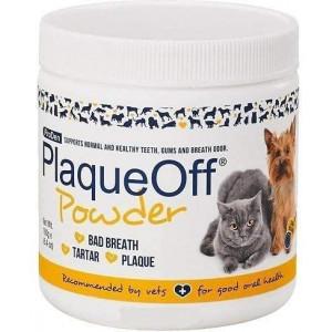 Plaque Off VETS ProDen Powder Dog and Cat Supplement, 180 g jar