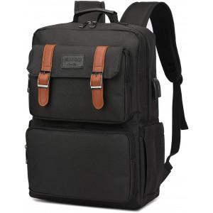 Laptop Backpack for Women Men Vintage Backpack Bookbags Anti Theft Bookbag