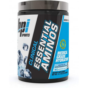 BPI Sports Clinical Essential Aminos, Keto Friendly, Essential Amino Acids (eaas), Recovery, Muscle Growth, Hydration, Arctic Ice, 30 Servings, 11.11 Oz