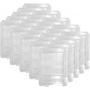 """SiForce Plastic ESD Clamshell Case for 3.5"""" Internal Hard Drives (3.5"""" 50 Pack)"""