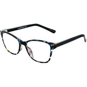 EYEPAL Blue Light Filter Computer Glasses for Blocking UV Headache (EP2537) With Cloth