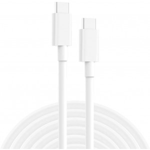 USB C to USB C Charging Cable, Cord Replacement for MacBook Pro, MacBook 12 inch, New MacBook Air, 2020/2018 iPad Pro 12.9, 11, Google Pixel 2/3/4 XL, Nexus 6P, All PD USB C Charger, USB-IF, 6.6ft