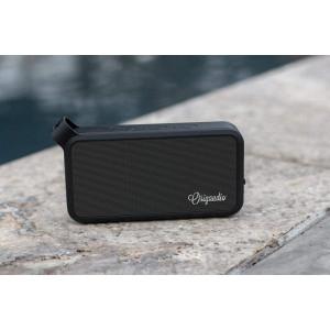 Origaudio Aquathump Waterproof Bluetooth Speaker  5 Watt Speaker Perfect for Parties, Camping, Beach and Outdoors  4+ Hours of Playtime