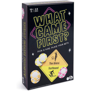 What Came First? Board Game About Picking Sides and Betting Big