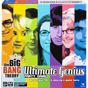 Big Bang Theory TV Show Ultimate Genius Party Game for Teens, Adults, and Kids 12 and Up