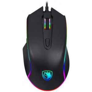 [Premium Version] SADES Gaming Mouse Wired -Scythe- 7 Programmable Buttons, 11 RGB Lighting, 4000 DPI Adjustable, Comfortable Grip Ergonomic Optical PC Computer Gaming Mice with Sniper Button