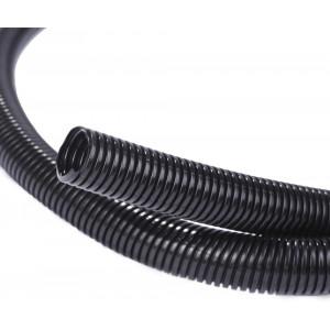 Alex Tech 25ft  1/2 inch Split Wire Loom Tubing Wire Conduit  Black