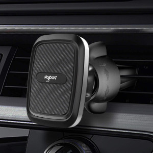Car Vent Magnetic Phone Mount, VOLPORT Hands Free Air Vent Magnetic Car Mount Holder Adjustable Vent Clip Cell Phone Mount with Twist-Lock for iPhone X XS XR 11 Pro Samsung S20 S10 Plus and More