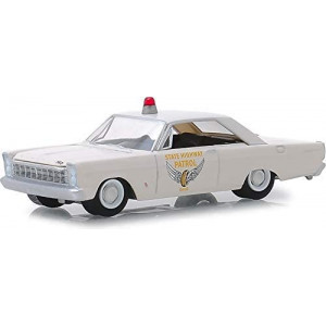 Greenlight 42880-A Hot Pursuit Series 31-1965 Ford Custom - Ohio State Highway Patrol 1:64 Scale