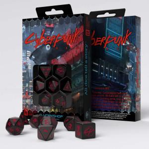 The Cyberpunk RPG Dice Set