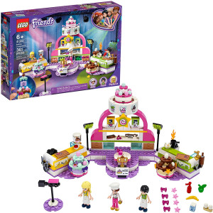 LEGO Friends Baking Competition 41393 Building Kit, LEGO Set Baking Toy, Featuring 3 LEGO Friends Characters and Toy Cakes, New 2020 (361 Pieces)