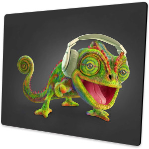 Shalysong Mouse pad Animal Dinosaur Chameleon Mouse pad Personalized Design Computer Mouse pad