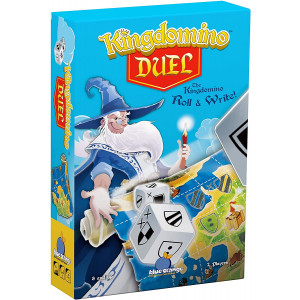 Blue Orange Games Kingdomino Duel, Roll and Write Board Game - Dice Rolling Version of The Award Winning Strategy Board Game Kingdomino - 2 Players. Recommended for Ages 8 and Up