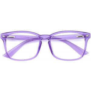 Mimoeye 2 Pack/1 Pack Oversized Blue Light Blocking Glasses Anti Eyestrain Work Gaming TV Glasses for Women and Men