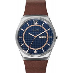 Skagen Melbye Leather Watch - SKW6574