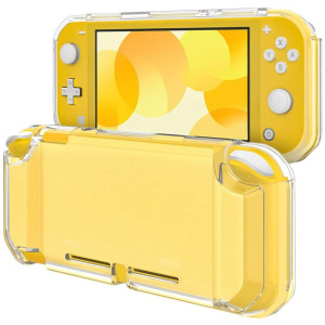 TiMOVO Clear Cover for Nintendo Switch Lite Case, Frosted Translucent TPU Protective Case Shell with Anti-Slip Grip for Nintendo Switch Lite Console