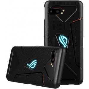 DDJ ASUS ROG Phone II Case, Ultra Slim TPU Case Cover Soft, Flexible and Lightweight Shockproof, Dirt-Repellent Bumper Shell for ASUS ROG Phone II ZS660KL (Black)