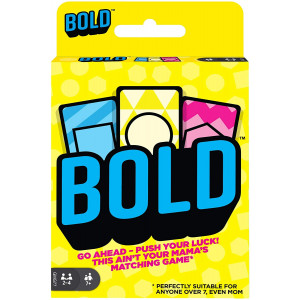 Bold Family Card Game, Matching Game for 7 Year Olds and Up, with 112 Cards and Instructions