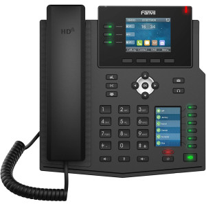 Fanvil X4U Gigabit SIP Enterprise Desktop Phone with Dual-Color LCD Display