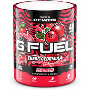 G Fuel Pewdiepie (40 Servings) Elite Energy and Endurance Formula 9.8 oz. Inspired by Pewds