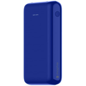 mophie Power Boost - Portable Charger with Universal Compatibility - Made for Smartphones, Tablets, and Other USB Devices - Blue, Cobalt, Medium (401104000)