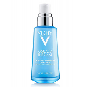 Vichy Aqualia Thermal UV Defense Face Moisturizer with SPF 30, Daily Sunscreen Moisturizer for 48-Hr Dynamic Hydration, Oil-Free