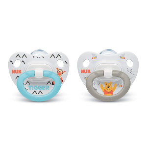 NUK Disney Winnie The Pooh Orthodontic Pacifiers, 0-6 Months, 2-Pack