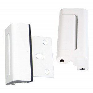 White Door Guardian Safety Lock, 2-Pack, The Original - Do Not Be Fooled by Imitators