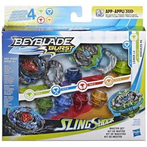 Beyblade Burst Turbo Slingshock Master Set - Luinor L4/Hercules H4