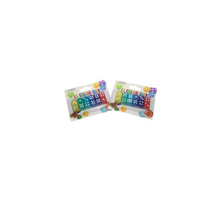 24 Pack of Dice for Board Games. Rainbow Dice for Any Occasion Or Game. Great for Board Games
