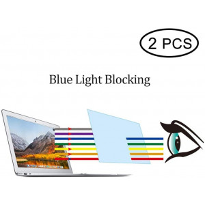 [2 Pack] Screen Protector for Apple MacBook Pro 16 inch 2019, Anti Blue Light Screen Protector Film for MacBook Pro 16 inch Laptop, HD Clear Eye-Protection Blue Light Blocking - Not Glass