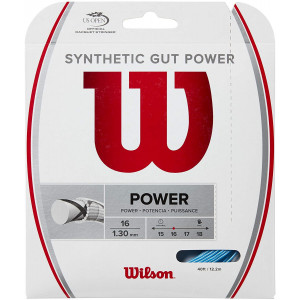 Wilson Synthetic Gut Power Tennis String Set - 16 gauge