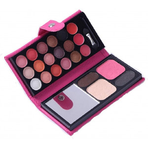 Glitter Eyeshadow Palette,18 Colors Sparkle Shimmer Eye Shadow Highly Pigmented Long Lasting Makeup Set Gold