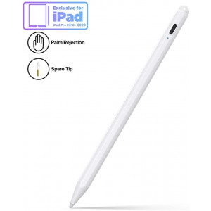 Stylus Pen for iPad with Palm Rejection, Active Pencil Compatible with (2018-2020) Apple iPad Pro (11/12.9 Inch),iPad 6th/7th Gen,iPad Mini 5th Gen,iPad Air 3rd Gen for Precise Writing/Drawing