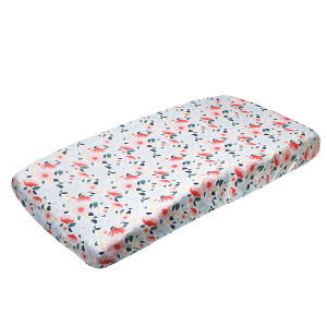 """Premium Knit Diaper Changing Pad Cover""""Leilani"""" by Copper Pearl"""