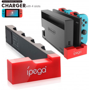 Charger for Switch Joy Cons, Charging Dock for Nintendo Switch Joy Cons