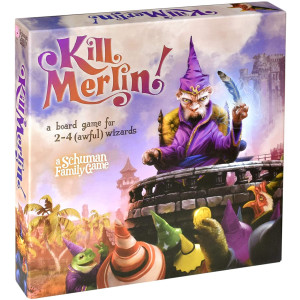 Kill Merlin! - a board game for 2-4 (awful) wizards