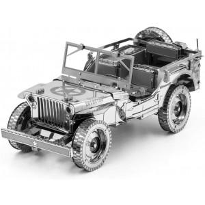 Fascinations Metal Earth ICONX Willys MB 3D Metal Model Kit