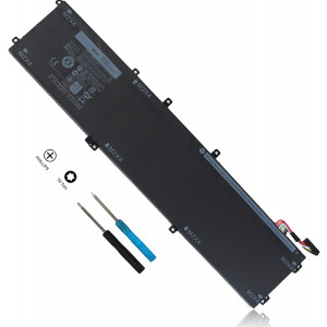 11.4V 84Wh 4GVGH Laptop Battery Compatible with Dell XPS 15 9550 15-9550 P56F P56F001 Precision 5510 Mobile Workstation Series 1P6KD 01P6KD Li-ion Battery 6-Cell