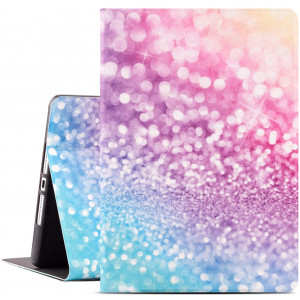 Drodalala iPad 10.2 Case New iPad 7th Gen 10.2 inch Cover Premium Leather with Soft TPU Back Cover Smart Case for iPad 10.2 2019 7th Generation Cover (Colorful Sparkles)