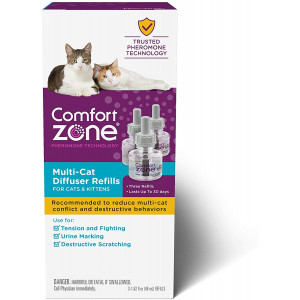Comfort Zone Multicat Calming 30 Day Diffuser Refill