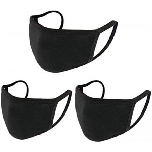 3PCS Unisex, Washable and Reusable Face Shield with Elastic Ear Loop Anti-Dust