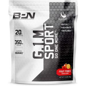 Bare Performance Nutrition, G.1.M Sport Endurance Formula, Electrolyte Formula, Cluster Dextrin, Superior Carbohydrate Source (25 Servings, Fruit Punch)